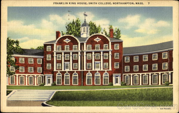 Franklin King House, Smith College Northampton Massachusetts