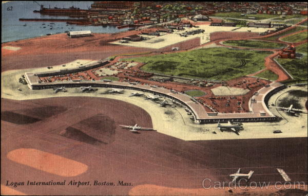 Logan International Airport Boston Massachusetts Airports