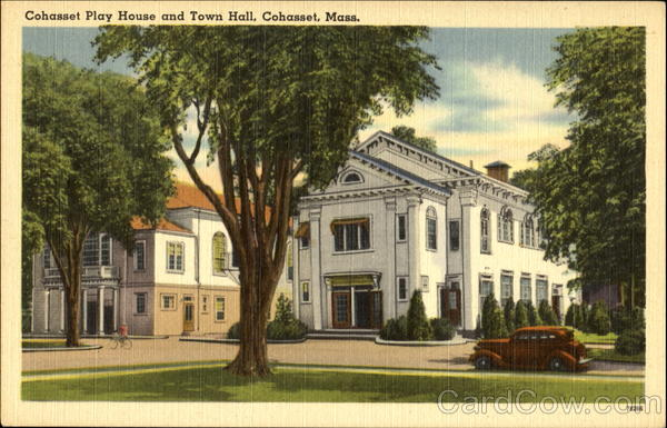 Cohasset Play House And Town Hall Massachusetts