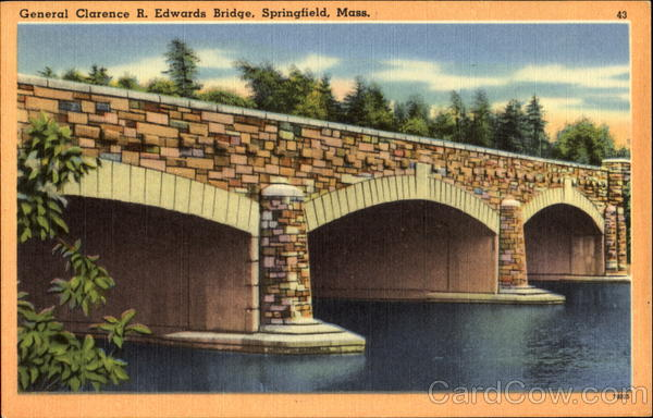 The General Clarence R. Edwards Bridge Springfield Massachusetts
