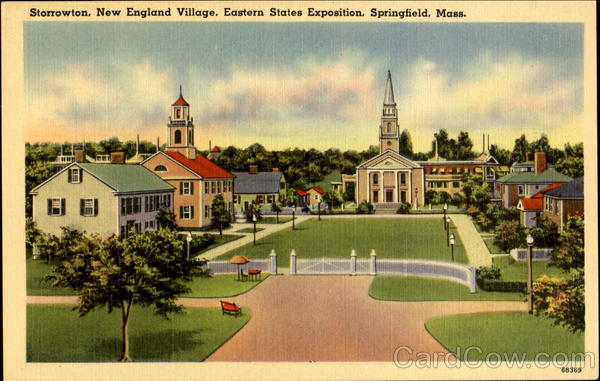 Storrowton New England Village Springfield Massachusetts