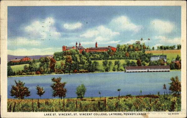 Lake St. Vincent, St. Vincent College Latrobe Pennsylvania