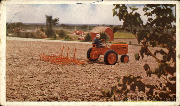 Allis-Chalmers Model C Tractor Advertising