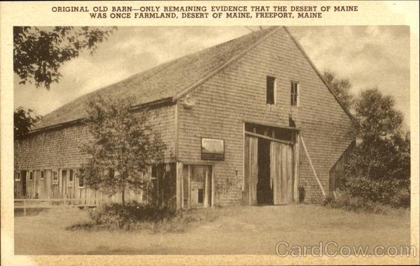 Original Old Barn Freeport Maine
