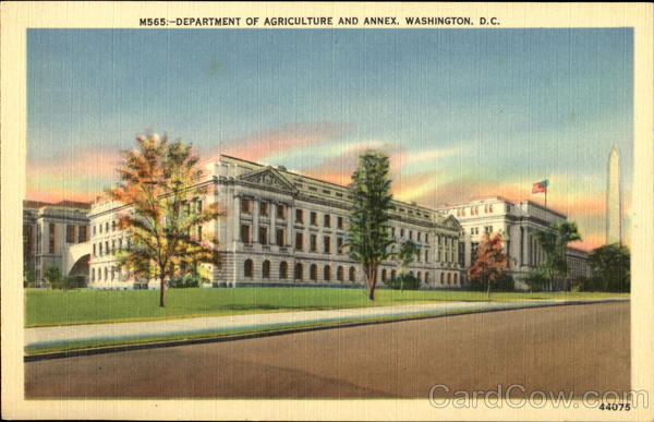 Department Of Agriculture And Annex Washington District of Columbia