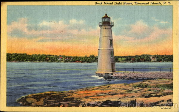Rock Island Light House Thousand Islands New York