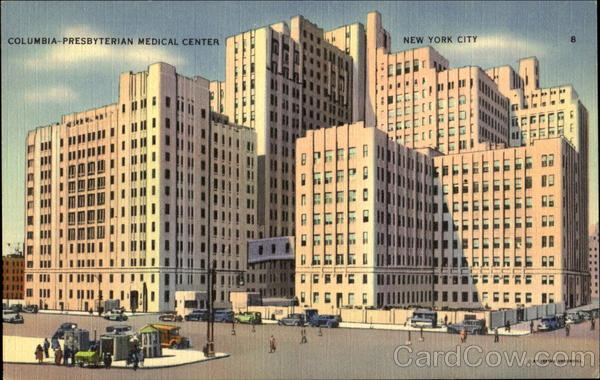 Columbia Presbyterian Medical Center New York City