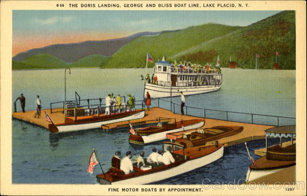 The Doris Landing Lake Placid New York