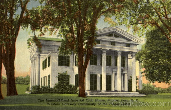 Ingersoll-Rand Imperial Club House Painted Post New York