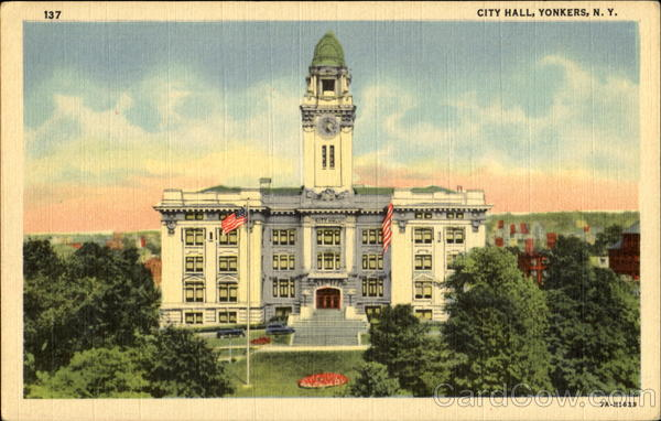 City Hall Yonkers New York