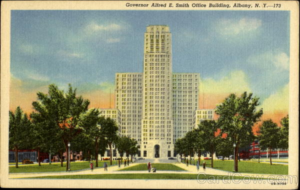 Governor Alfred E. Smith Office Building Albany New York