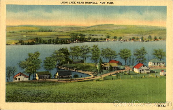 Loon Lake Near Hornell New York