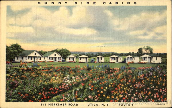 Sunny Side Cabins, 511 Herkimer Road Utica New York