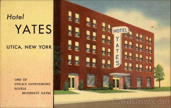 hotel yates 42 genesee st utica ny. Black Bedroom Furniture Sets. Home Design Ideas