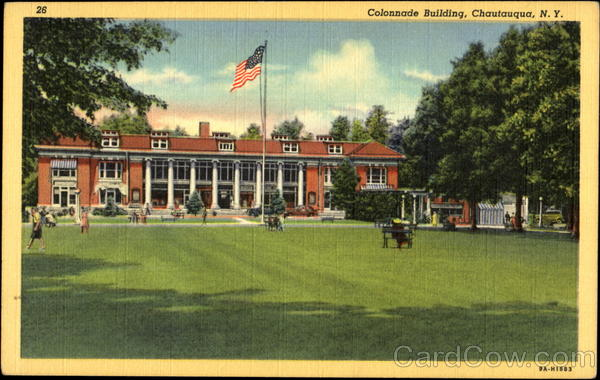 Colonnade Building Chautauqua New York
