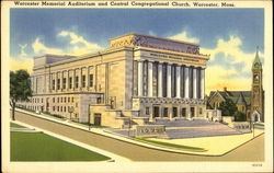 Worcester Memorial Auditorium And Central Congregational Church