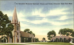 St. Barnabas Memorial Episcopal Church And Parish, Cape Cod
