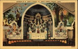 Interior Of St. Anne's Church St. Anne's Shrine