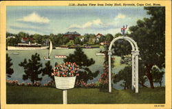 Harbor View From Daisy Bluff, Cape Cod Postcard