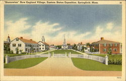 Storrowton New England Village Eastern States Exposition