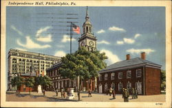 Independence Hall, Chestnut St., between 5th and 6th Sts.
