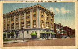 Masonic Building And Pennsylvania Hotel