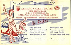 Lehigh Valley Motel And Restaurant, R. D. 1