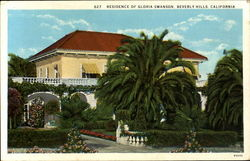 Residence Of Gloria Swanson Beverly Hills, CA