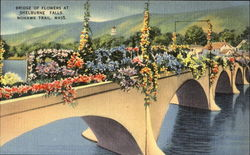 Bridge Of Flowers At Shelburne Falls