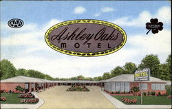 Ashley Oaks Motel, U. S. 41 North Side