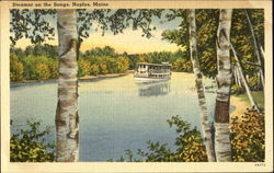 Steamer On The Songo Postcard