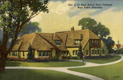 One Of 25 High School Boys Cottage