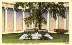Interior Warren G. Harding Memorial