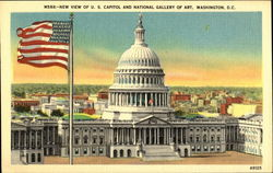 New View Of U. S. Capitol And National Gallery Of Art