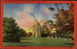 The Old Seventeenth Century Windmill