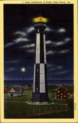 New Lighthouse At Night