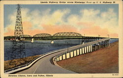 Lincoln Highway Bridge Across Mississippi River, U. S. Highway 30
