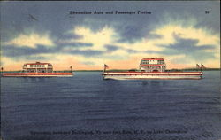 Streamline Auto And Passenger Ferries Postcard
