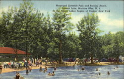 Municipal Lakeside Park And Bathing Beach