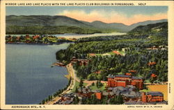 Mirror Lake And Lake Placid
