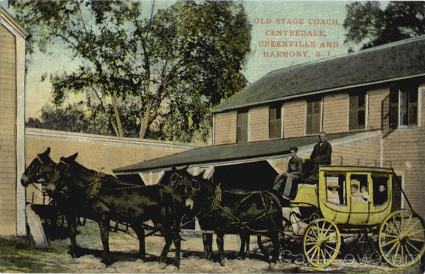 Old Stage Coach, Greenville and Harmony Centredale Rhode Island