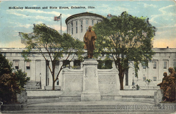 McKinley Monument and State House Columbus Ohio