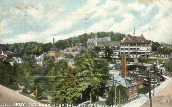Army and Navy Hospital Hot Springs Arkansas
