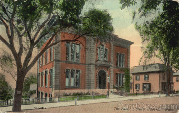 The Public Library Haverhill Massachusetts