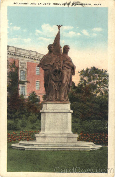 Soldiers' and Sailors' Monument Winchester Massachusetts