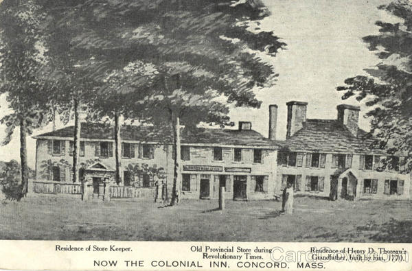 Colonial Inn Concord Massachusetts