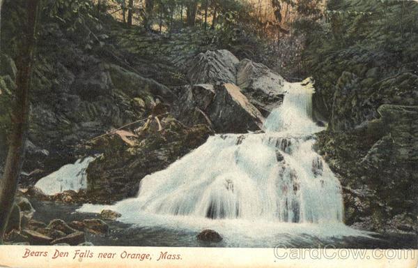 Bears Den Falls Orange Massachusetts