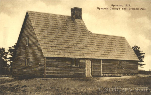 Plymouth Colony's First Trading Post Aptucxet Massachusetts