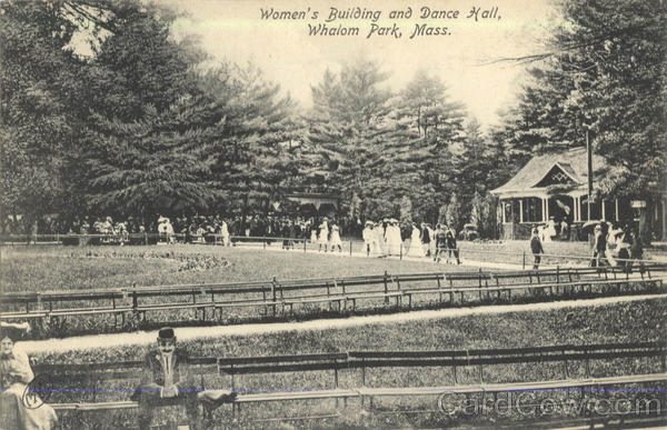 Women's Building and Dance Hall Whalom Park Lunenburg Massachusetts