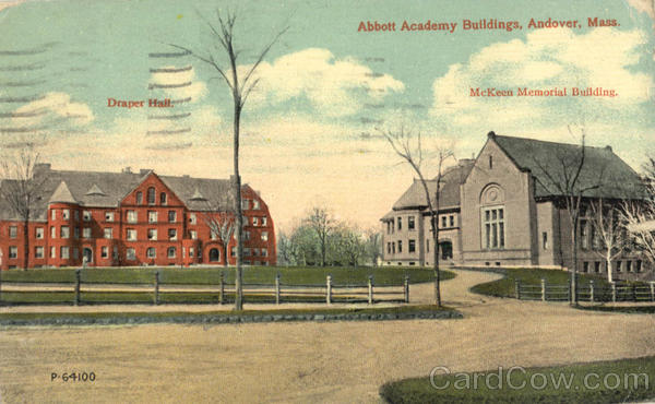 Abbott Academy Buildings, McKeen Memorial Building Andover Massachusetts